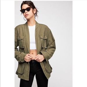 FREE PEOPLE In Our Nature Belted Cargo Jacket